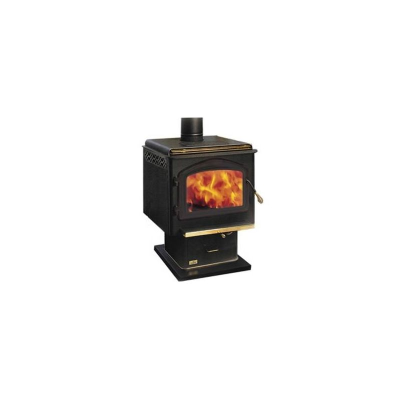 Napoleon 1400 EPA 2.25 Cubic Foot Wood Burning Pedestal Stove