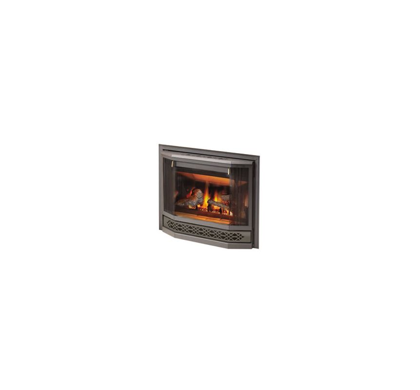 Napoleon Bgd33nr 16400 Btu Direct Vent Zero Clearance Natural Gas Fireplace Wit