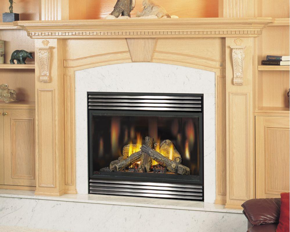 Napoleon Gd82ntt Tureen 26000 Btu Direct Vent Zero Clearance Natural Gas Fire