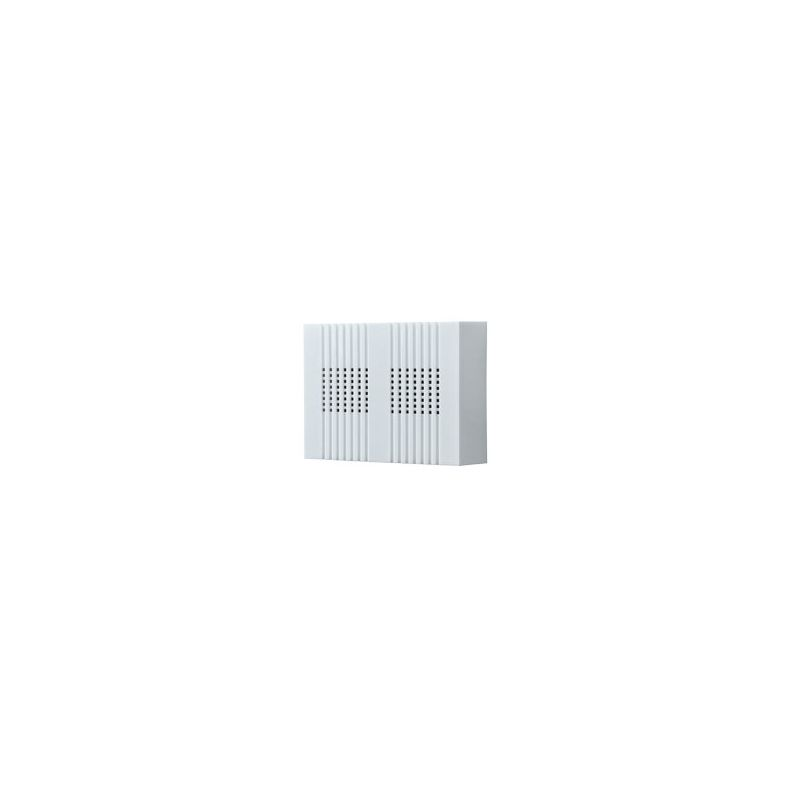 NuTone LA126WH Two-Note Wired Decorative Door Chime with One-Note Second Door Ch Deal