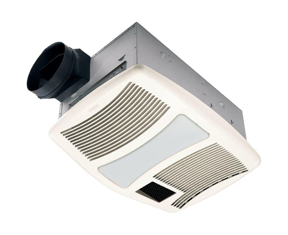 Nutone qtxn110hl bathroom fan for Nutone bathroom exhaust fan installation