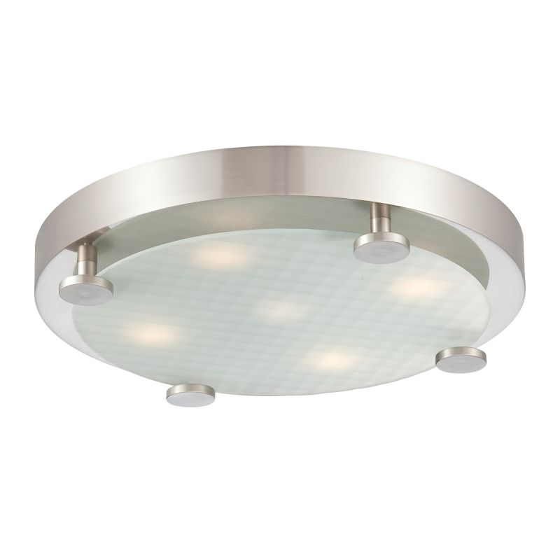 philips bathroom light upc 046677796204 philips 190142217 brushed nickel flush 13960