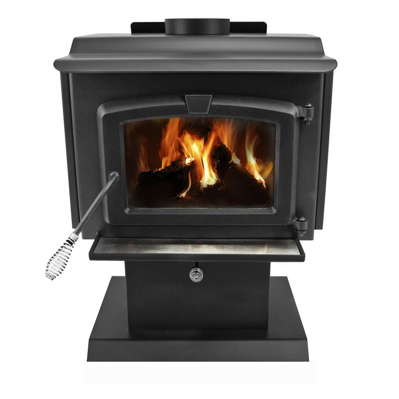 Pleasant Hearth HWS-224172MH Small 50,000 BTU Wood Burning Stove with Blower and photo
