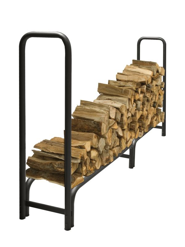 Pleasant Hearth LS938-96 Outdoor Steel Log Rack,