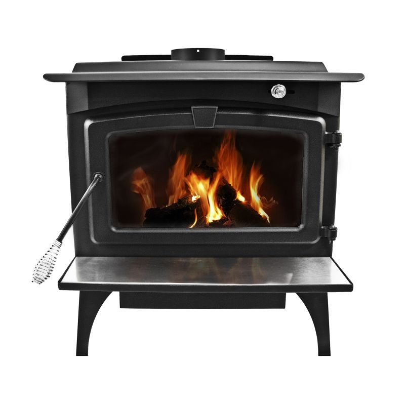Pleasant Hearth LWS-130291 Large 77,000 BTU Wood Burning Stove with Blower and C photo
