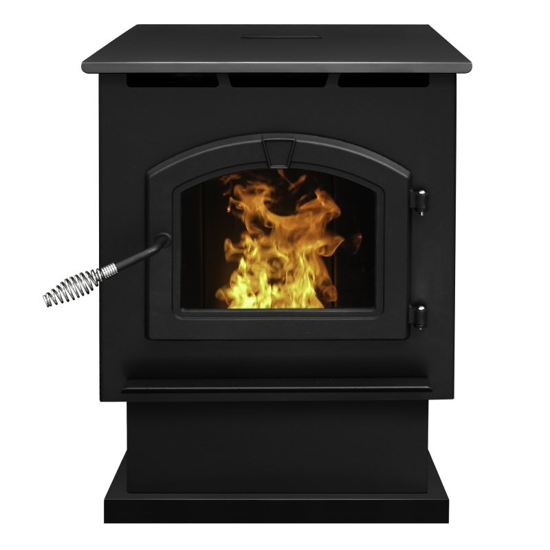 Pleasant Hearth PH50PS Large 50,000 BTU Wood Pellet Burning Stove with LED Comfo photo