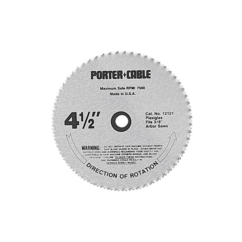Porter cable blades upc barcode upcitemdb 039404100412 porter cable 12122 4 12 speciality circular saw blade greentooth Gallery
