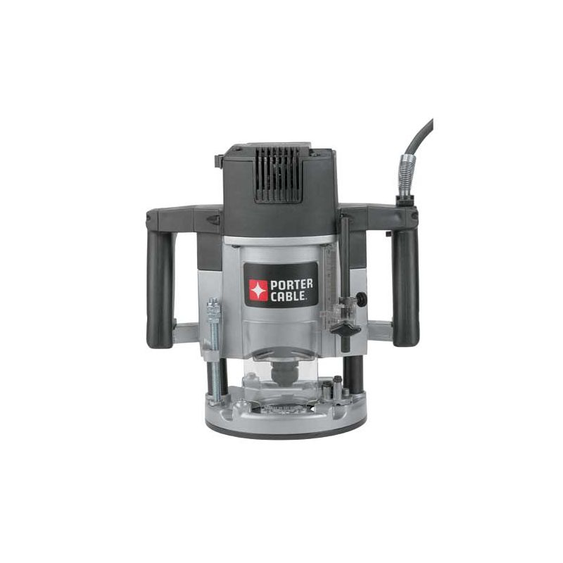 Porter Cable 7539 3-1/4 HP Five-Speed Plunge Router with 15 Amp Motor and 1/2