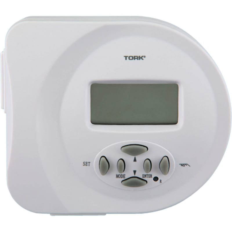 Progress Lighting P8531 Plug-In Digital Timer with Multiple Electronic On/Off Se photo