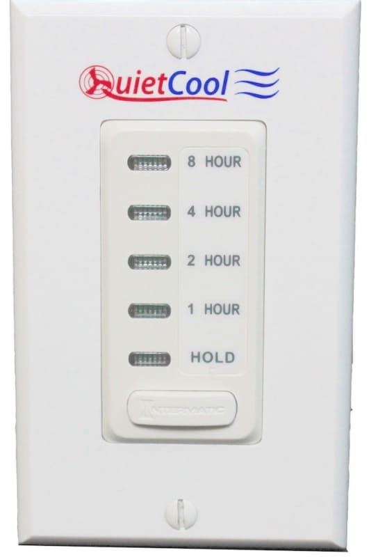 QuietCool IT-30070 8 Hour Electronic Timer with Hold Function for QuietCool Whol photo