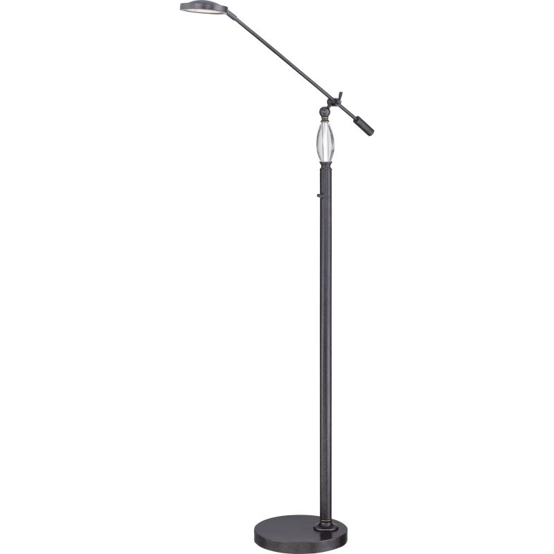 Quoizel Q1853F Signature 1 Light LED Boom Arm Floor Lamp
