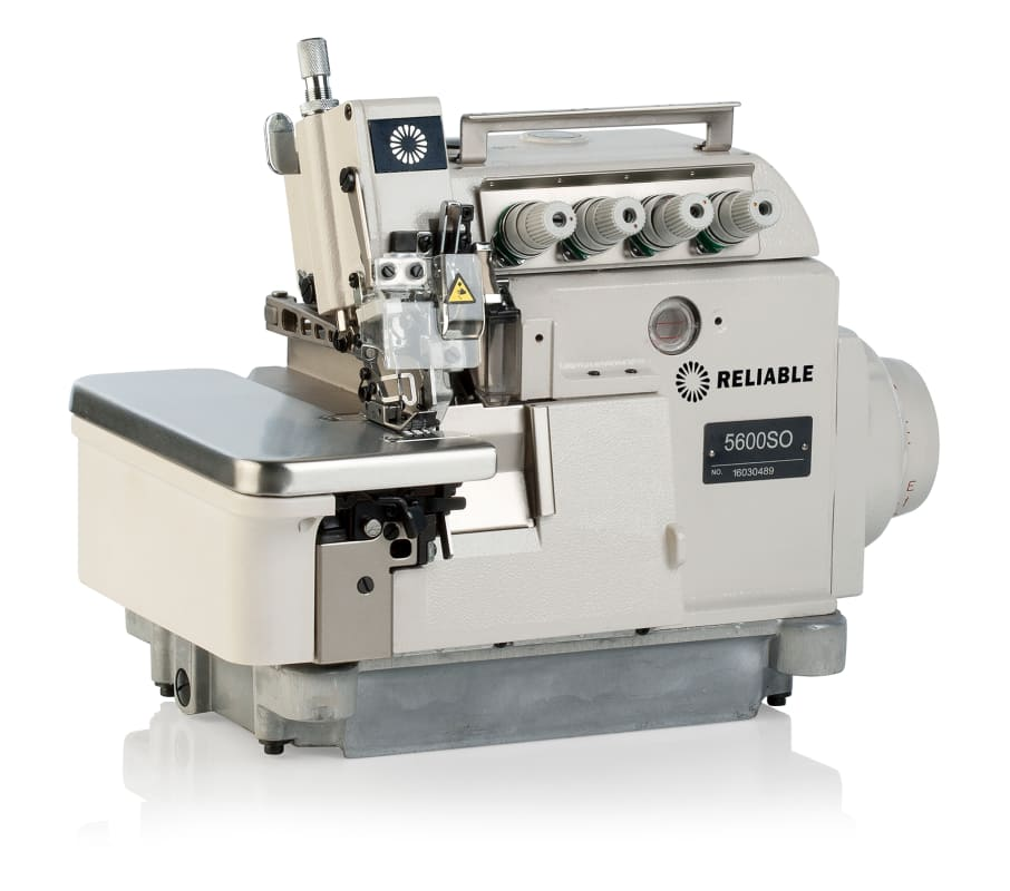 Reliable 5600SO 6000RPM 3 to 5 Thread Commercial Serger