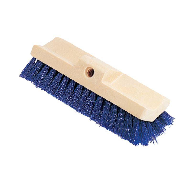Rubbermaid Commercial RCP6337BLU Bi-Level Deck Scrub Brush, Polypropylene Fibersnohtin