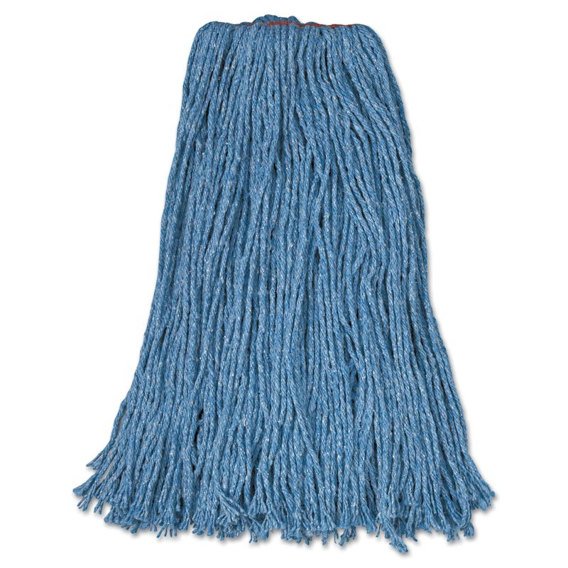 Rubbermaid Commercial RCPF51812BLU Cotton/Synthetic Cut-End Blend Mop Head, 24 onohtin