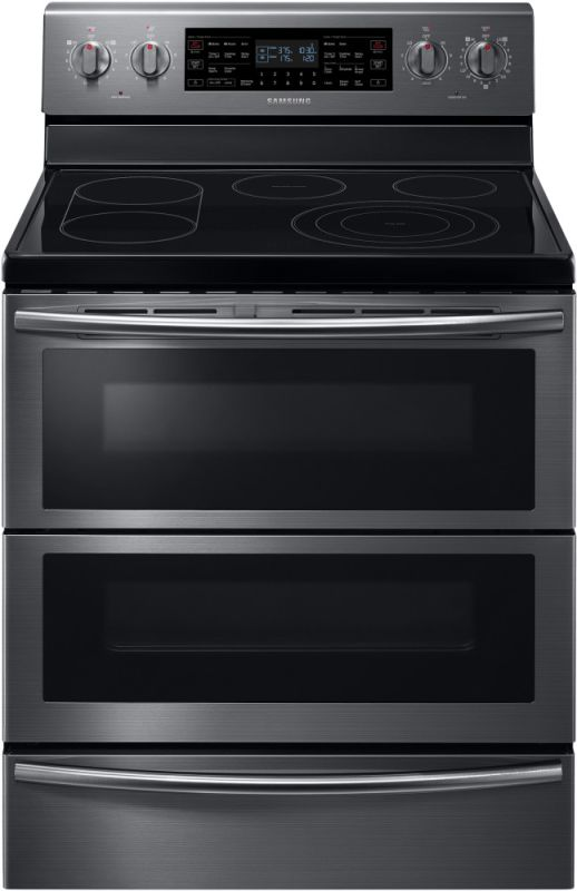 Samsung NE59J7850W 30 Inch Wide 5.9 Cu. Ft. Free Standing Electric Range with Du photo