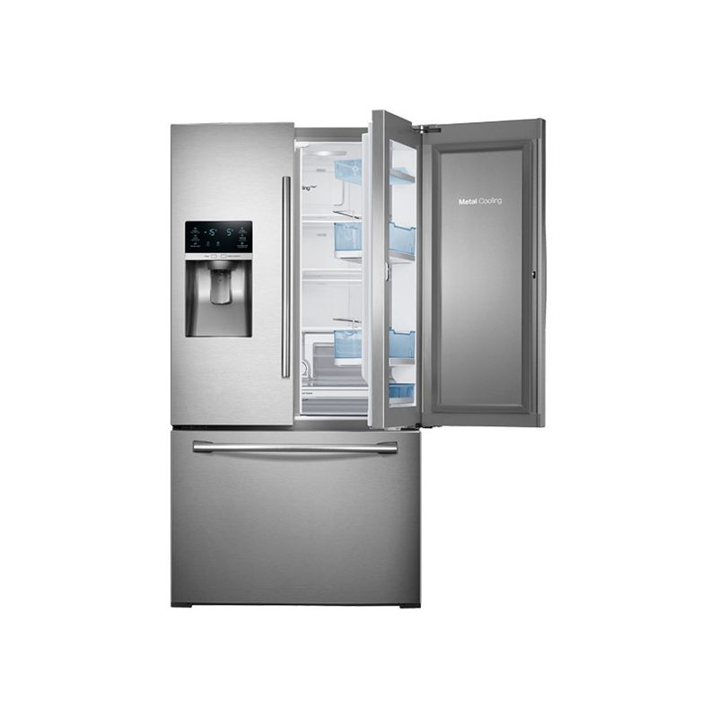 Samsung RF28HDEDBSR 36 Inch Wide 28 Cu. Ft. French Door Refrigerator with Food S photo