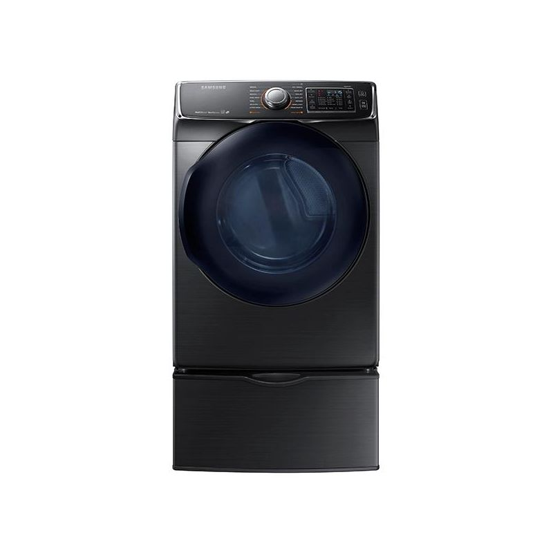 Samsung DV50K7500G 27 Inch Wide 7.5 Cu. Ft. Energy Star Rated Gas Dryer with Mul photo