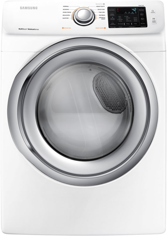 Samsung DVE45N5300 27 Inch Wide 7.5 Cu. Ft. Electric Dryer with Steam Technology photo
