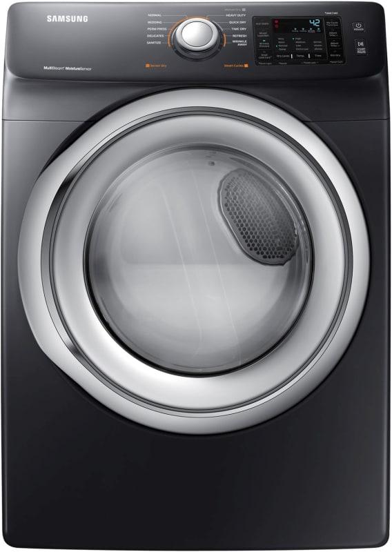 Samsung DVG45N5300 27 Inch Wide 7.5 Cu. Ft. Natural Gas Dryer with Steam Technol photo
