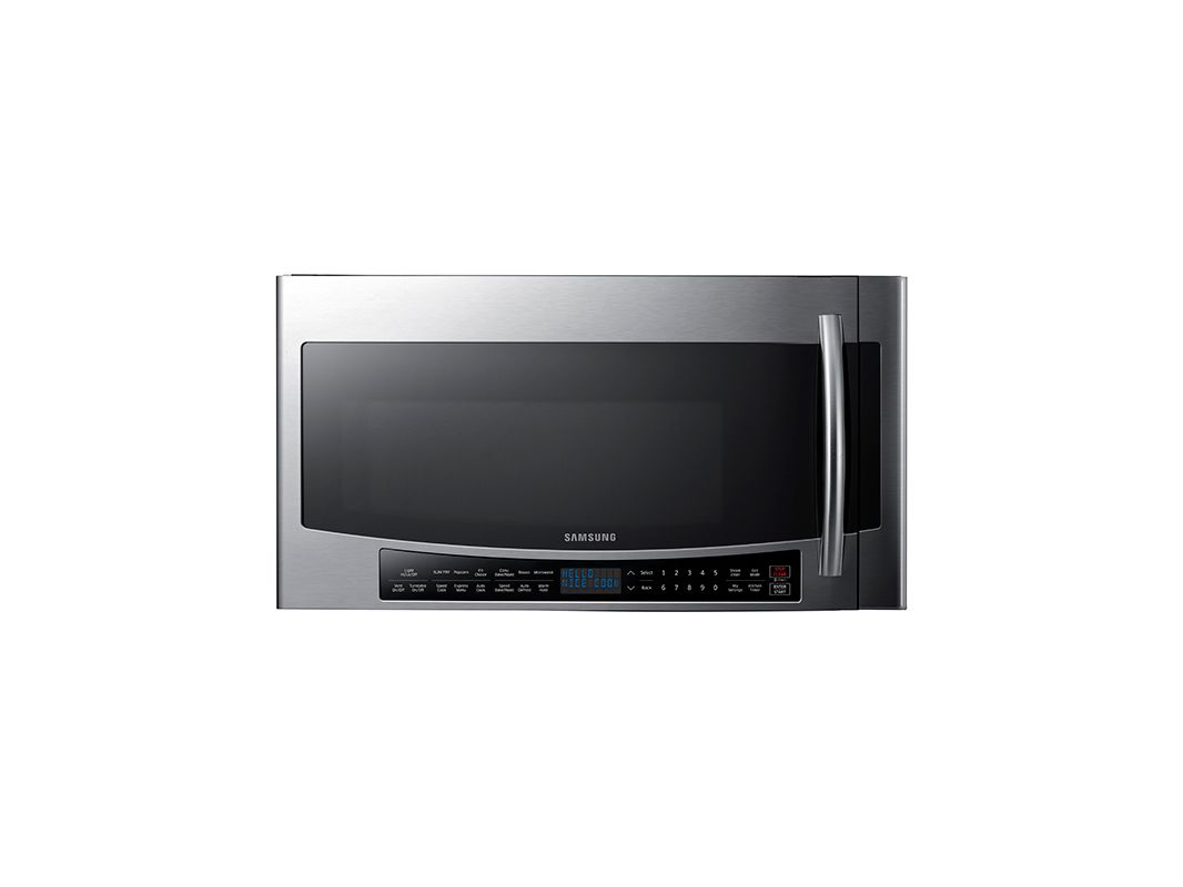 Samsung MC17J8000C 30 Inch Wide 1.7 Cu. Ft. 950 Watt Over-the-Range Microwave wi photo