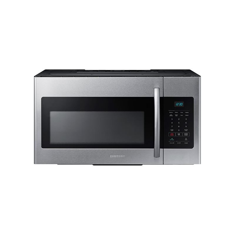 Samsung ME16H702SE 30 Inch Wide 1.6 Cu. Ft. Over-the-Range Microwave with Eco Mo photo