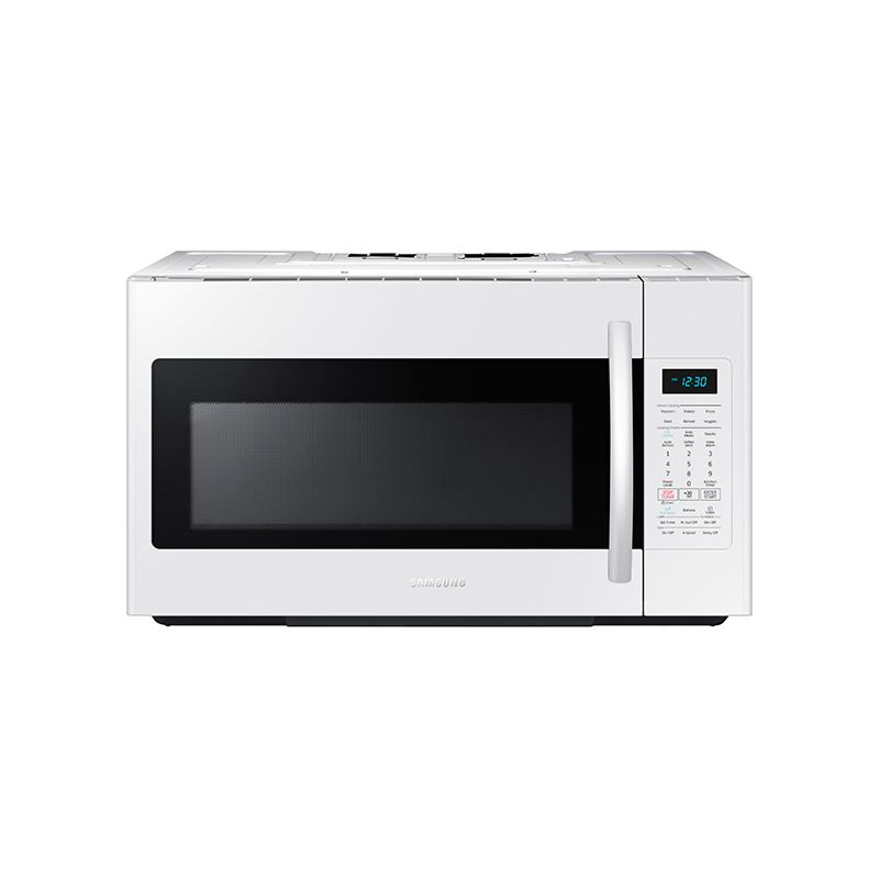 Samsung ME18H704SF 30 Inch Wide 1.8 Cu. Ft. Over-the-Range Microwave with Sensor photo
