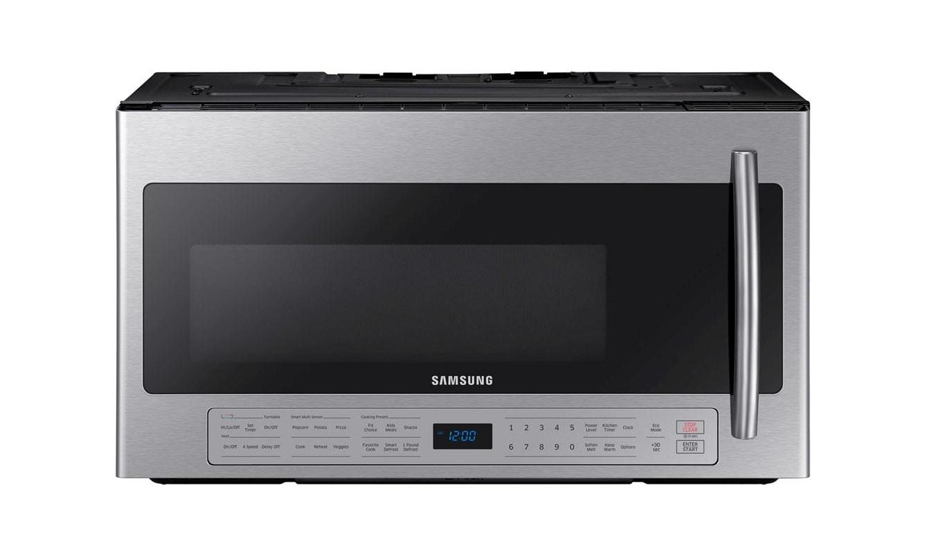 Samsung ME21K6000A 30 Inch Wide 2.1 Cu. Ft. 1000 Watt Over the Range Microwave w photo