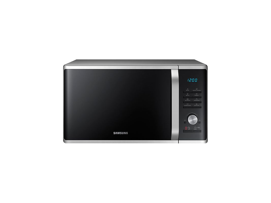 Samsung MS11K3000AS 21 Inch Wide 1.1 Cu. Ft. Countertop Microwave with Sensor Co photo