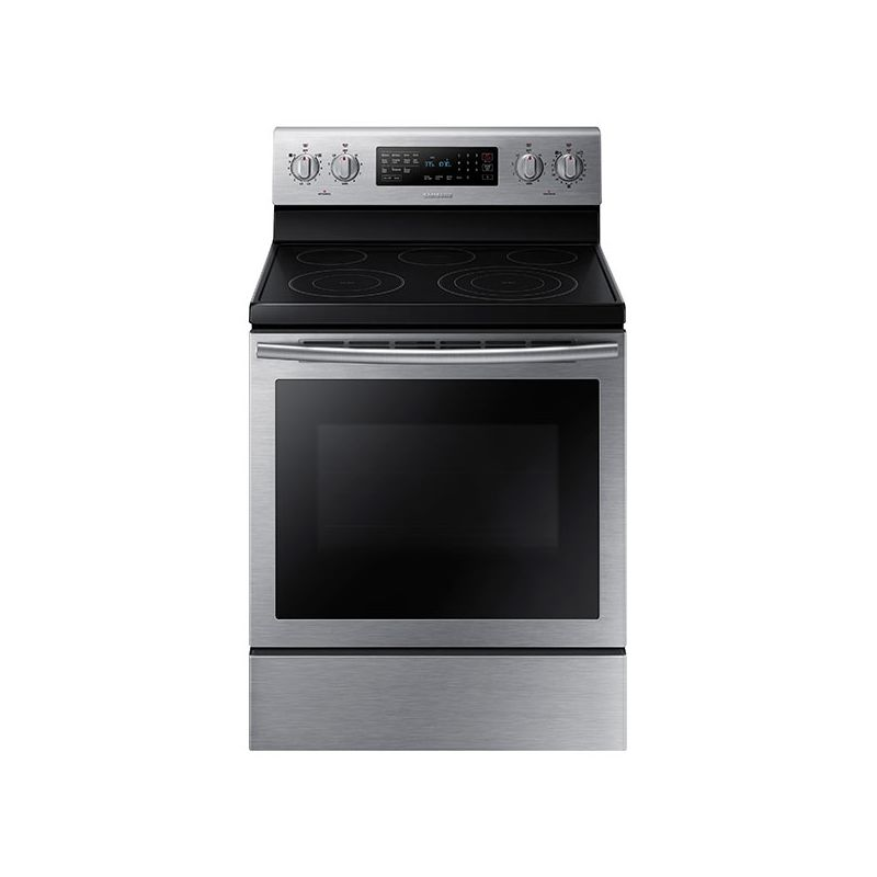 Samsung NE59J7630S 30 Inch Wide 5.9 Cu. Ft. Free Standing Electric Range with Tr photo