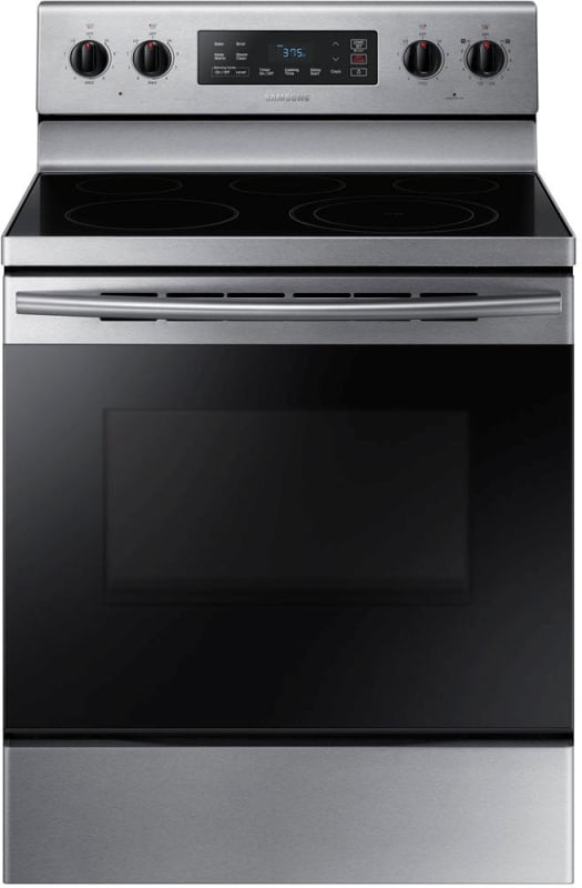 Samsung NE59K3310S 30 Inch Wide 5.9 Cu. Ft. Free Standing Electric Range with St photo