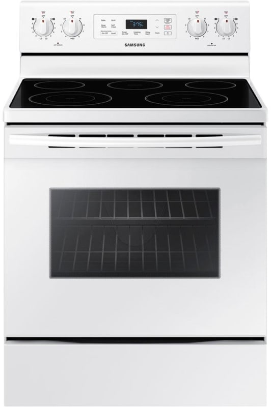 Samsung NE59M4310S 30 Inch Wide 5.9 Cu. Ft. Free Standing Electric Range with Se photo