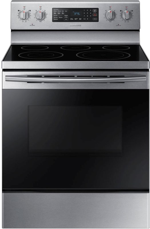 Samsung NE59M4320S 30 Inch Wide 5.9 Cu. Ft. Free Standing Electric Range with Fa photo