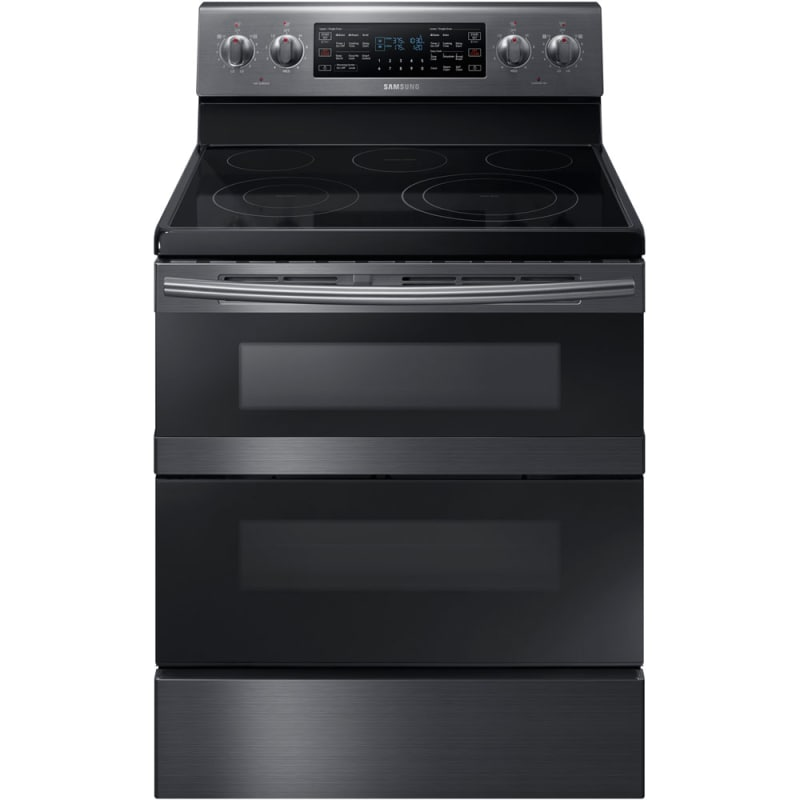 Samsung NE59M6850S 30 Inch Wide 5.9 Cu. Ft. Free Standing Electric Range with Fl photo