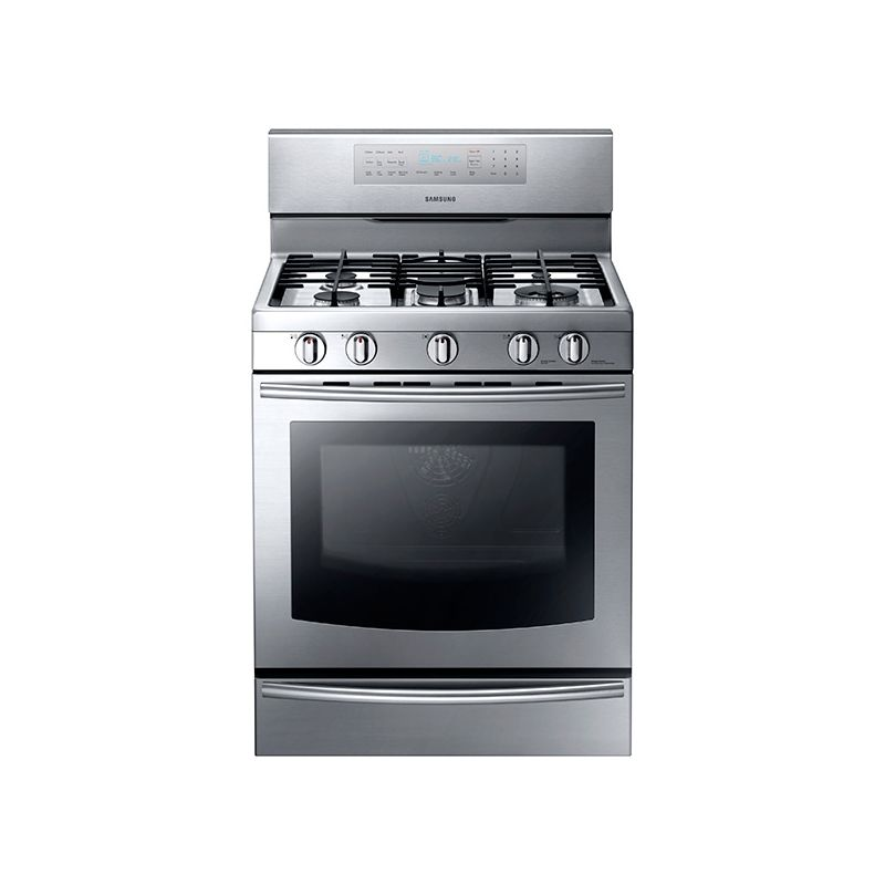 Samsung NX58F5700 5.8 Cu. Ft. Capacity Gas Range with True Convection photo