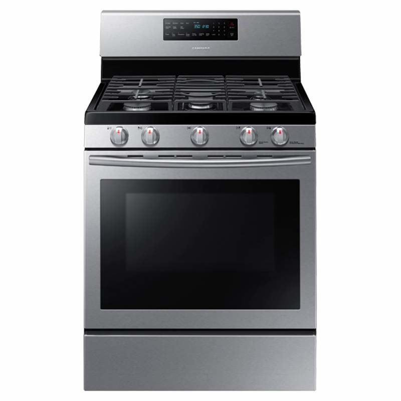 Samsung NX58H5600 30 Inch Wide 5.8 Cu. Ft. Gas Range with Convection and Stoveto photo