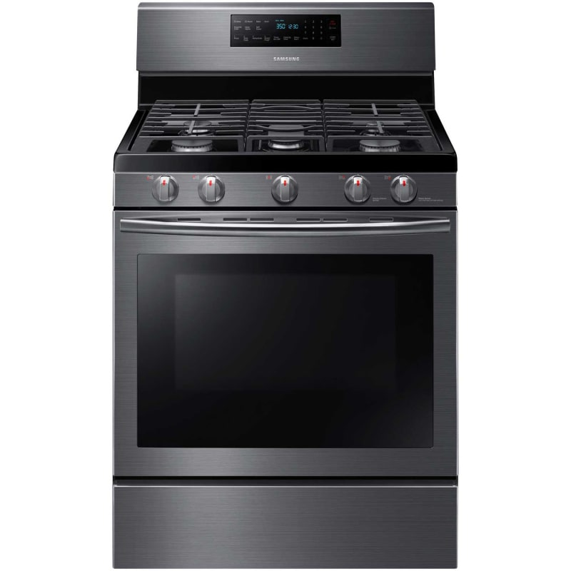 Samsung NX58J5600S 30 Inch Wide 5.8 Cu. Ft. Free Standing Natural Gas Range with photo