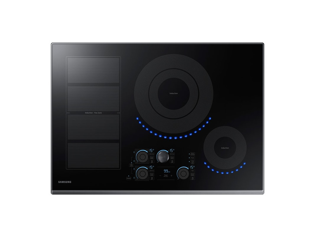 Samsung NZ30K7880U 30 Inch Wide Built In Induction Cooktop with WiFi / Bluetooth photo