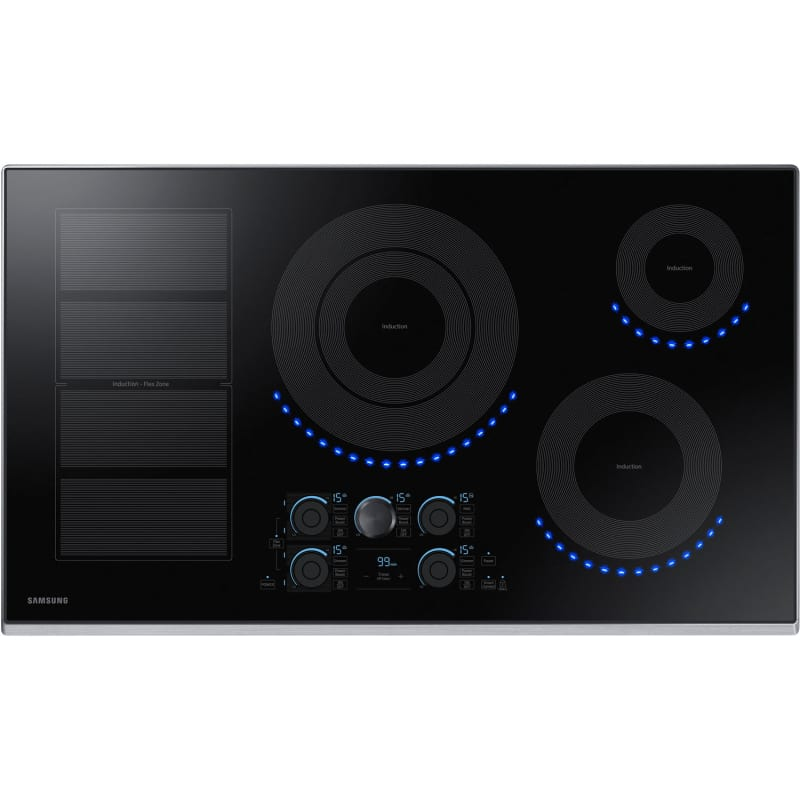 Samsung NZ36K7880U 36 Inch Wide Built In Induction Cooktop with WiFi / Bluetooth photo