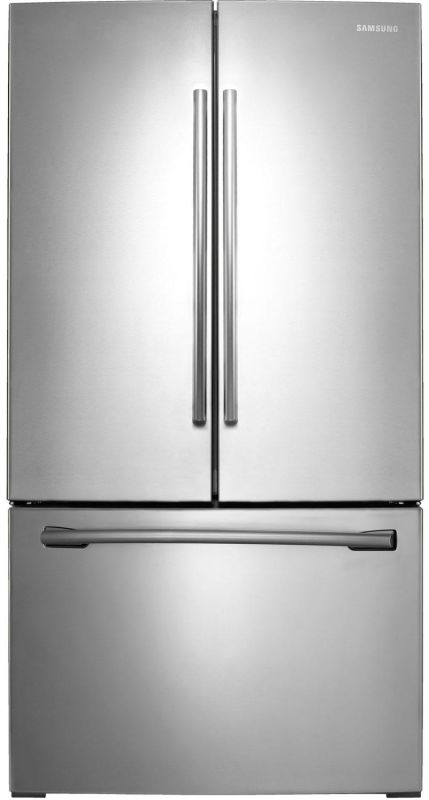 Samsung RF261BEAE 26 Cu. Ft. French Door Refrigerator with Filtered Ice Maker an photo