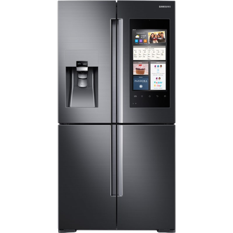 Samsung RF28M9580S 36 Inch Wide 27.9 Cu. Ft. Energy Star Rated Four Door French photo