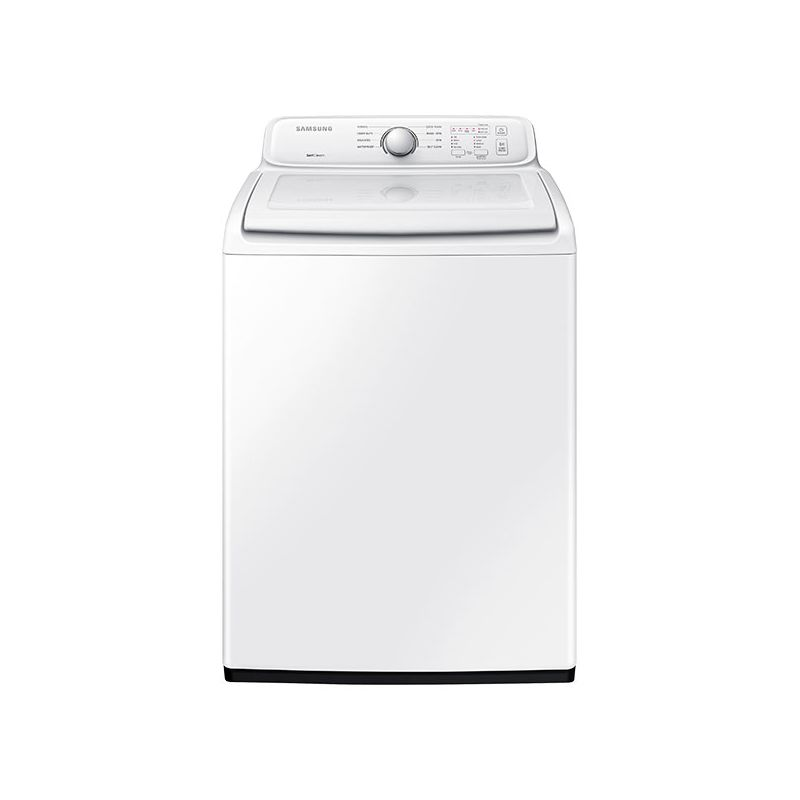 Samsung WA40J3000A 27 Inch Wide 4 Cu. Ft. Top Loading Washer with Diamond Drum I photo