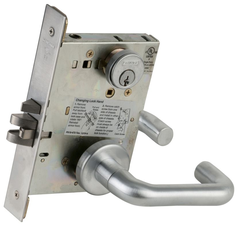 Schlage Door Lock With Built Cool How To Install A Chain