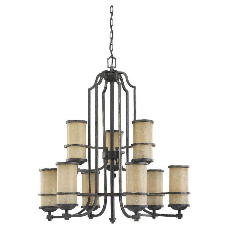 Sea Gull Lighting 31522 845 Flemish Bronze Chandelier