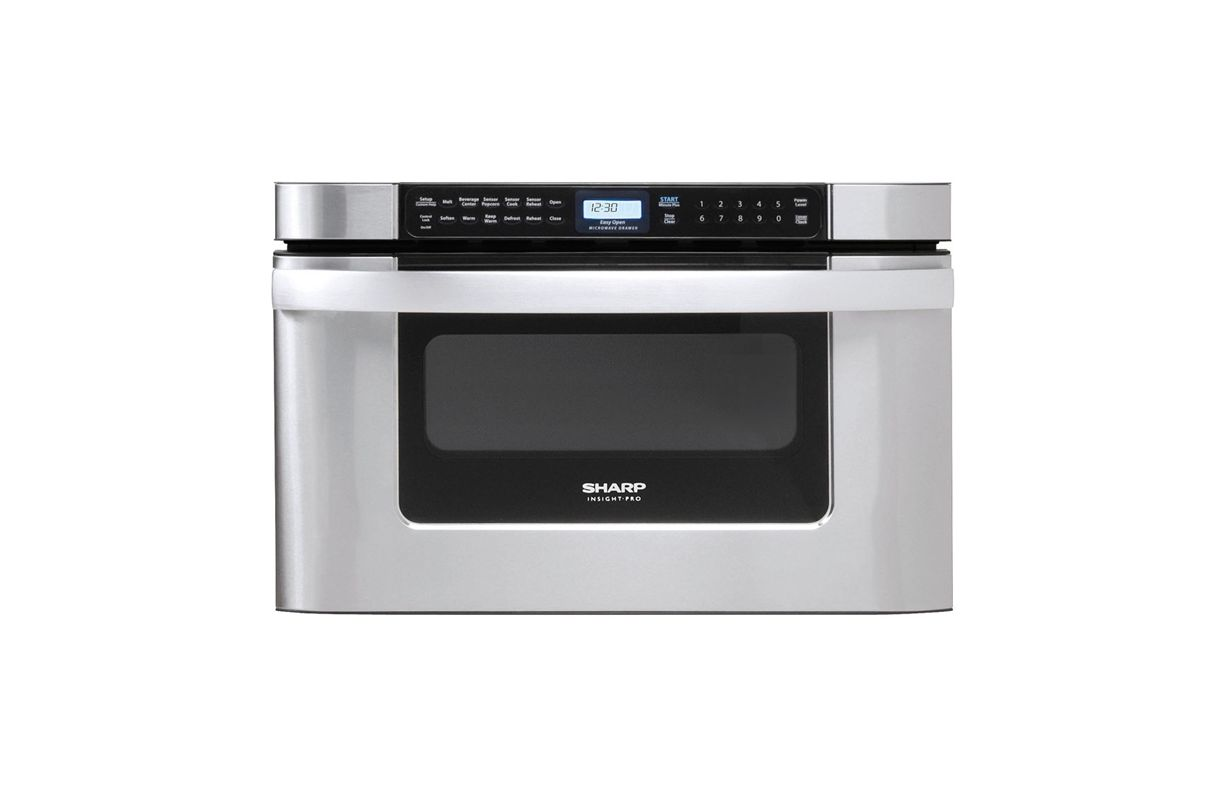 Sharp KB6524P 24 Inch Wide 1.2 Cu. Ft. Drawer Microwave with Auto Defrost photo