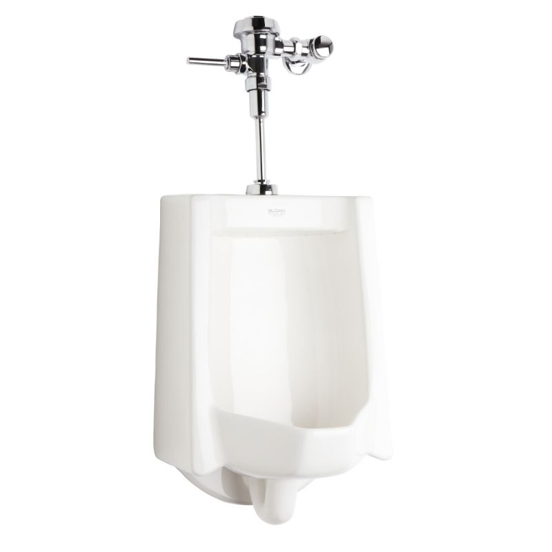 Sloan WEUS-1002.1001 Efficiency 0.25 GPF Urinal with Top Spud Placement and Roya