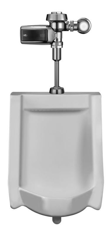 Sloan WEUS-1002.1403 Efficiency 0.25 GPF Urinal with Top Spud Placement and Batt