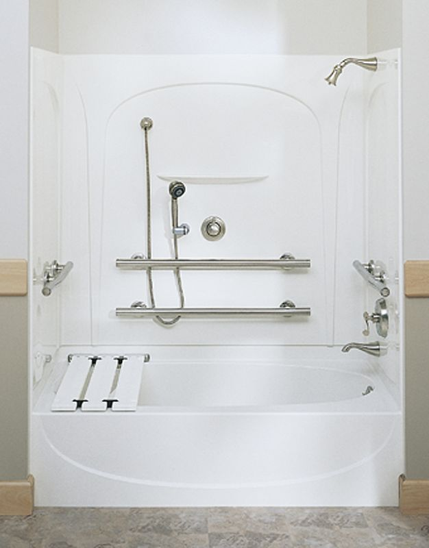 foot three wall alcove soaking tub with right hand d white tub