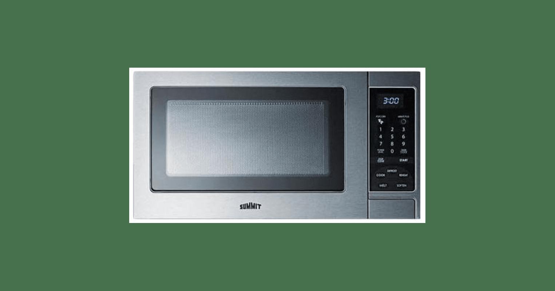 Summit SCM853 19 Inch Wide 0.9 Cu. Ft. Capacity 900 Watt Countertop Microwave photo