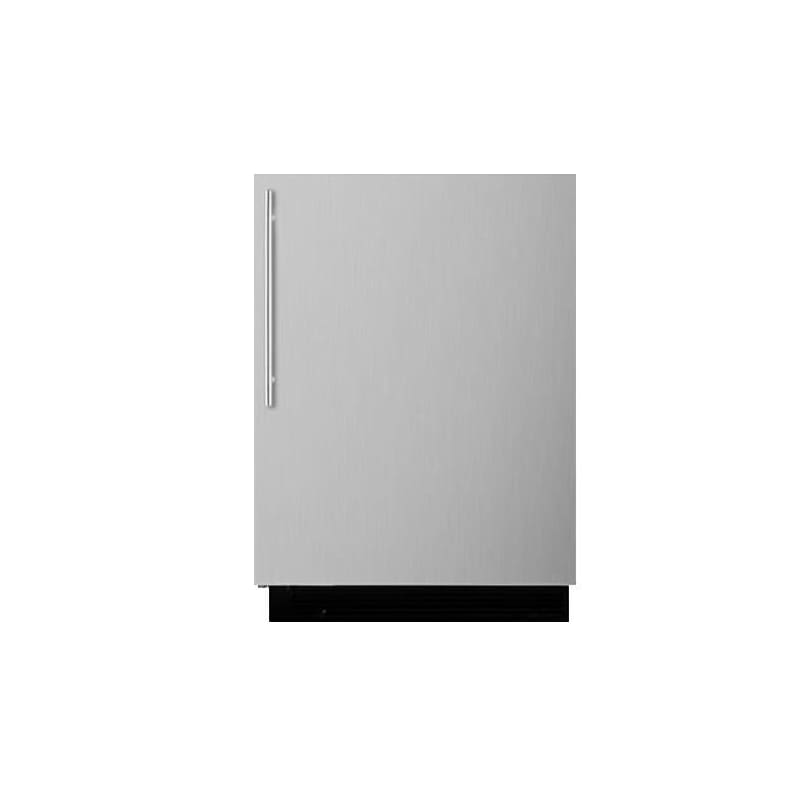 Summit BI605RSSVH 24 Inch Wide 6 Cu. Ft. Mini Fridge Refrigerator photo