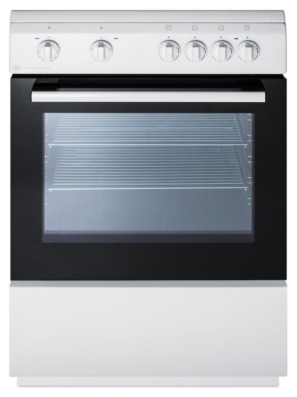 Summit CLRE24 24 Inch Wide 2.4 Cu. Ft. Capacity Free Standing Electric Range wit photo